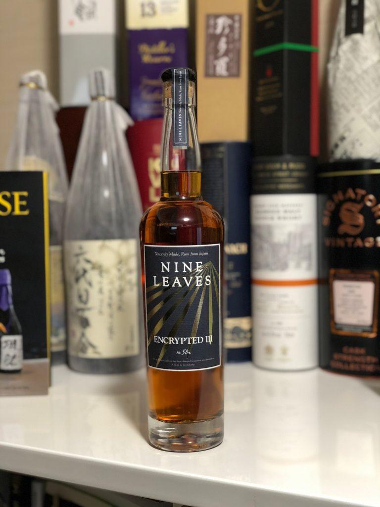 Nine Leaves Encrypted III Japanese Rum